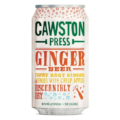 Cawston Press Ginger Beer (330ml)