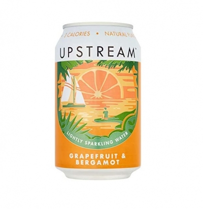 Upstream Grapefruit and Bergamot (330ml)